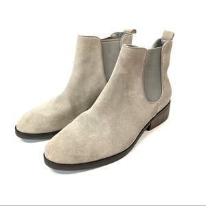 Cole Haan suede leather landsman ankle bootie